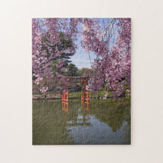 Cherry Blossom and Torri puzzle