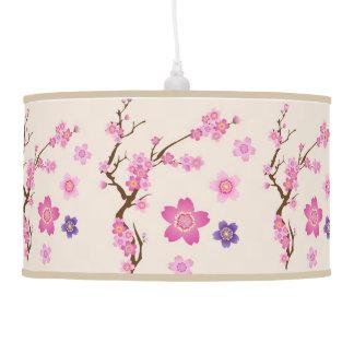 Cherry Blossom Art Pendant Lamp