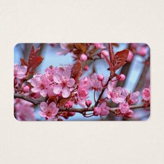 Cherry Blossom Asia Business Card