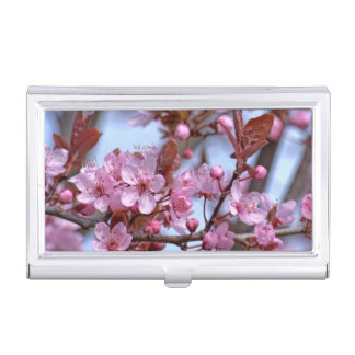 Cherry Blossom Asia Business Card Holder
