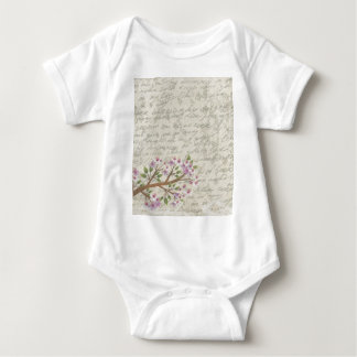 Cherry blossom baby bodysuit