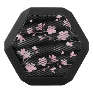 Cherry Blossom - Black Black Bluetooth Speaker