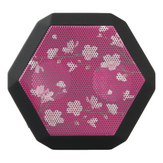 Cherry Blossom Black Bluetooth Speaker