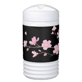 Cherry Blossom - Black Drinks Cooler