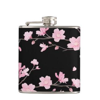 Cherry Blossom - Black Flasks