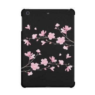 Cherry Blossom - Black iPad Mini Cover