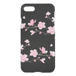 Cherry Blossom - Black iPhone 7 Case