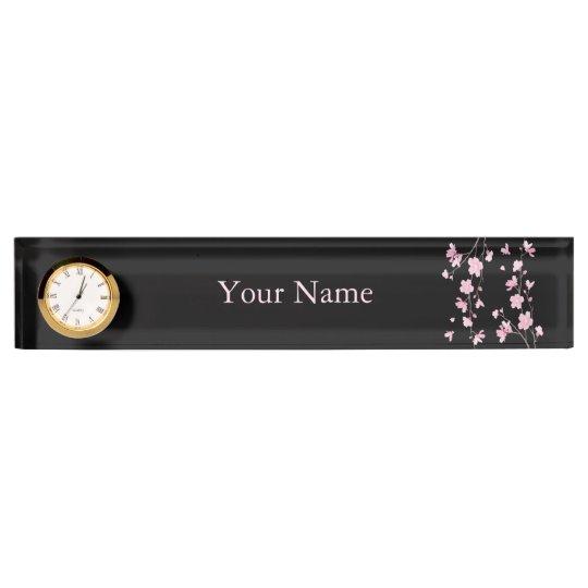 Cherry Blossom - Black Name Plates