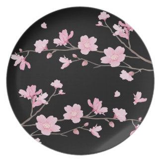 Cherry Blossom - Black Plates