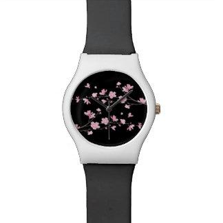 Cherry Blossom - Black Watches