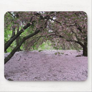 Cherry Blossom Blanket Mousepad