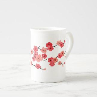 Cherry Blossom Bone China Mug