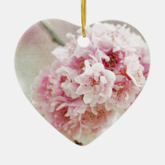 Cherry Blossom Botanical Ceramic Ornament