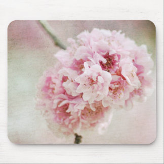 Cherry Blossom Botanical Mouse Pad
