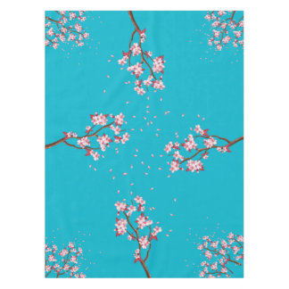 Cherry Blossom Branches Custom Table Cloth Tablecloth