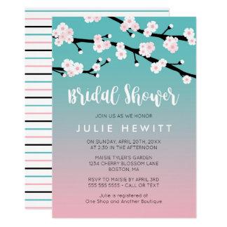 Cherry Blossom Bridal Shower Card
