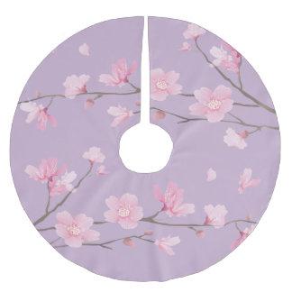 Cherry Blossom Brushed Polyester Tree Skirt