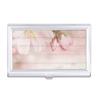 Cherry Blossom Business Card Cases