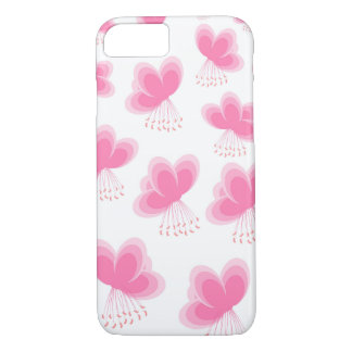 Cherry Blossom Butterfly Pattern iPhone 7 Case