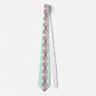Cherry Blossom Cascade Tie