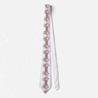 Cherry Blossom Cascade White Tie