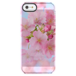 Cherry blossom clear iPhone SE/5/5s case