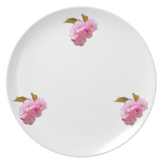 Cherry Blossom Cluster Plate
