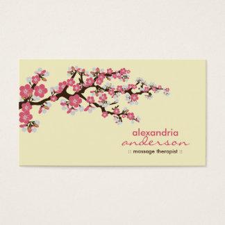 Cherry Blossom Custom Business Cards (pink)
