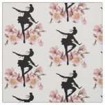 Cherry Blossom Dancer Fabric