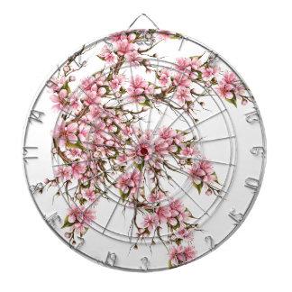 Cherry Blossom Dartboard