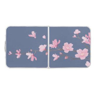 Cherry Blossom - Denim Blue Beer Pong Table