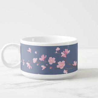 Cherry Blossom - Denim Bowl
