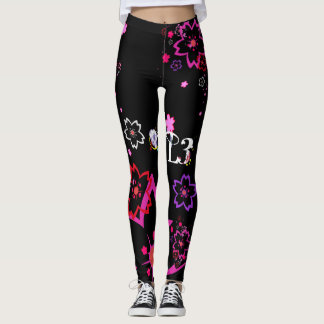 Cherry blossom design 2 leggings