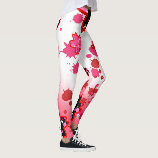 Cherry blossom design 5 leggings