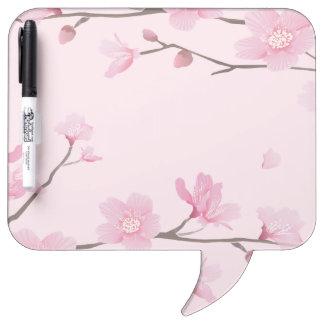 Cherry Blossom Dry-Erase Boards