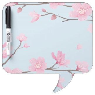 Cherry Blossom Dry Erase Whiteboard