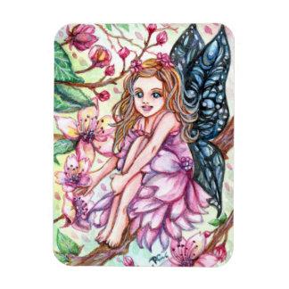 Cherry Blossom Fairy Magnet