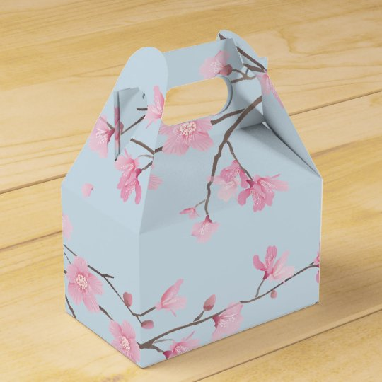 Cherry Blossom Favor Boxes