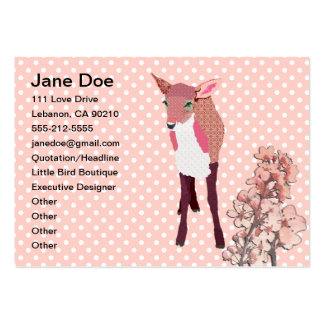 Cherry Blossom Fawn Business Cards