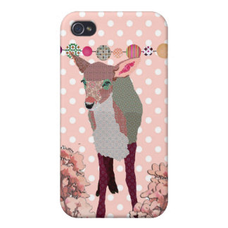 Cherry Blossom Fawn i iPhone 4/4S Case
