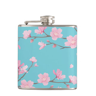 Cherry Blossom Flask