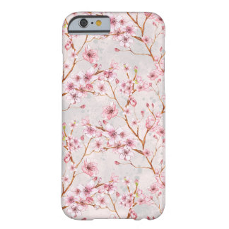 Cherry Blossom Flowers Branch Pink Blooms Barely There iPhone 6 Case