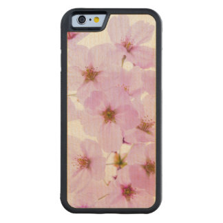 Cherry Blossom Flowers in Tokyo Japan Carved Maple iPhone 6 Bumper Case