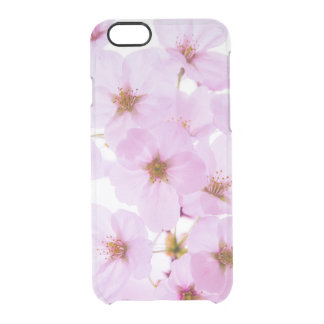 Cherry Blossom Flowers in Tokyo Japan Clear iPhone 6/6S Case