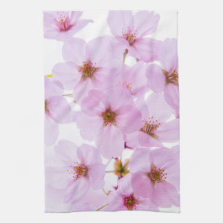 Cherry Blossom Flowers in Tokyo Japan Kitchen Towel