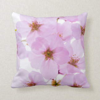 Cherry Blossom Flowers in Tokyo Japan Throw Pillow