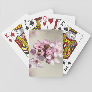 Cherry Blossom Flowers Playing Cards