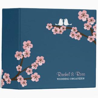 Cherry Blossom Garden (Pink Navy) Wedding Binders