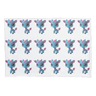 Cherry Blossom Giraffe Pillowcase