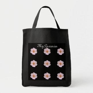 Cherry Blossom Grocery Tote